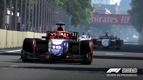 F1 2019 – Dévoile son premier trailer in-game