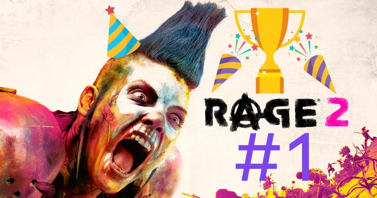 Rage 2 – Le jeu est premier des ventes au Royaume Uni