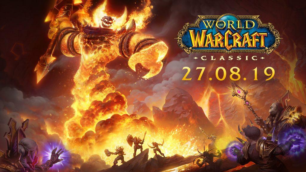 Date de lancement Wow Classic