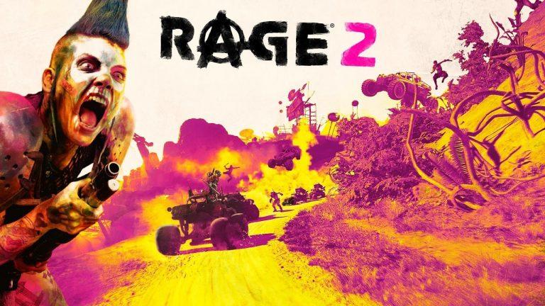 RAGE 2 – Le FPS complètement fou est enfin disponible
