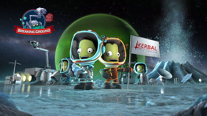 Kerbal Space Program – L'extension Breaking Ground est désormais disponible