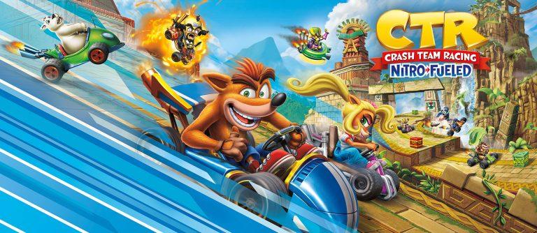 Crash Team Racing Nitro-Fueled – De nouveaux contenus disponible dès maintenant