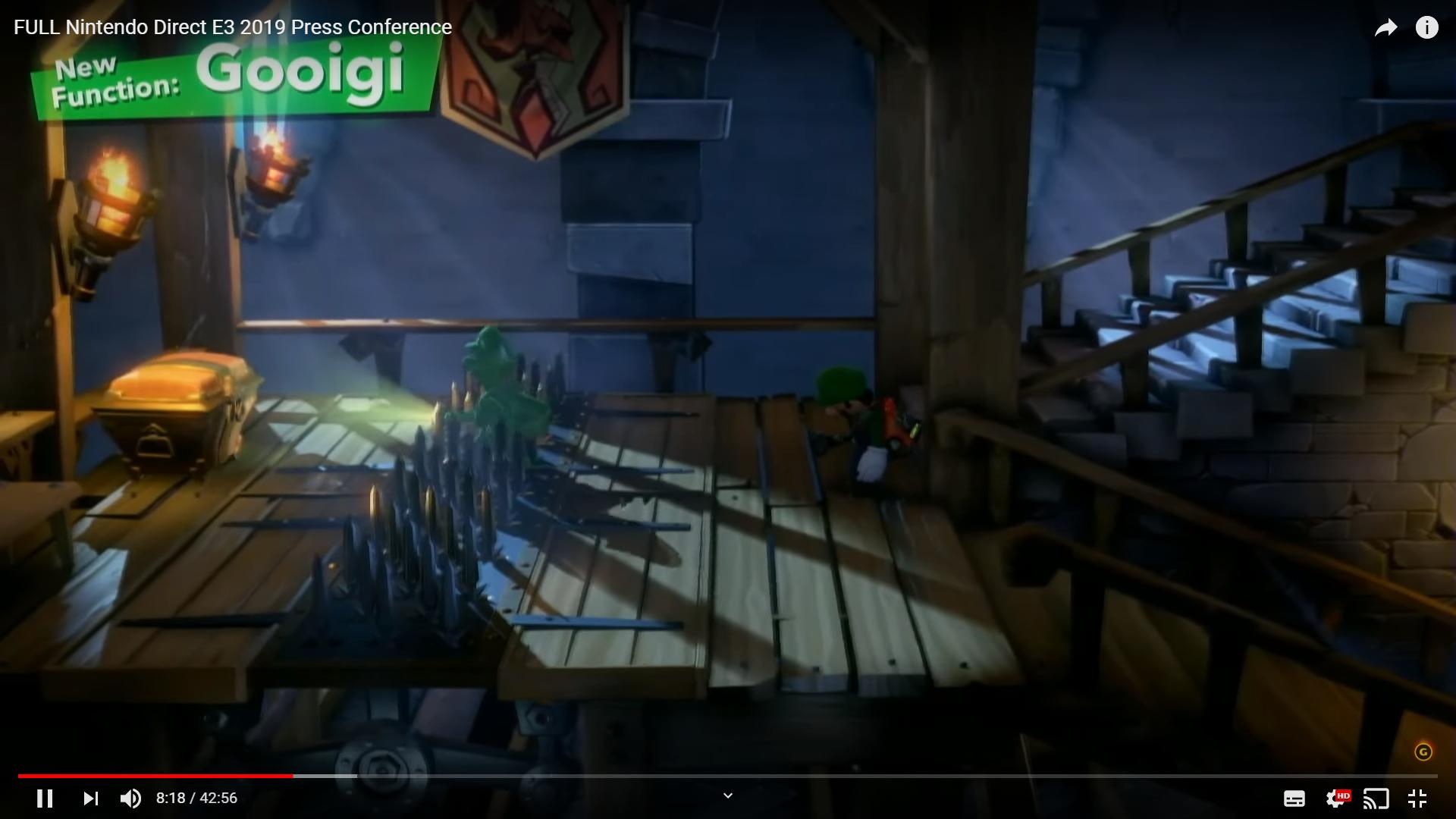 Gooigi Luigi's Mansion 3