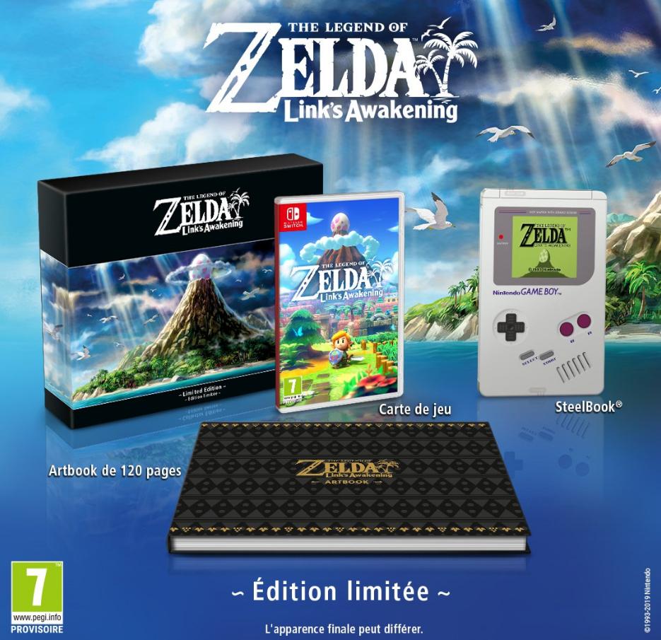 Link's Awakening limited edition