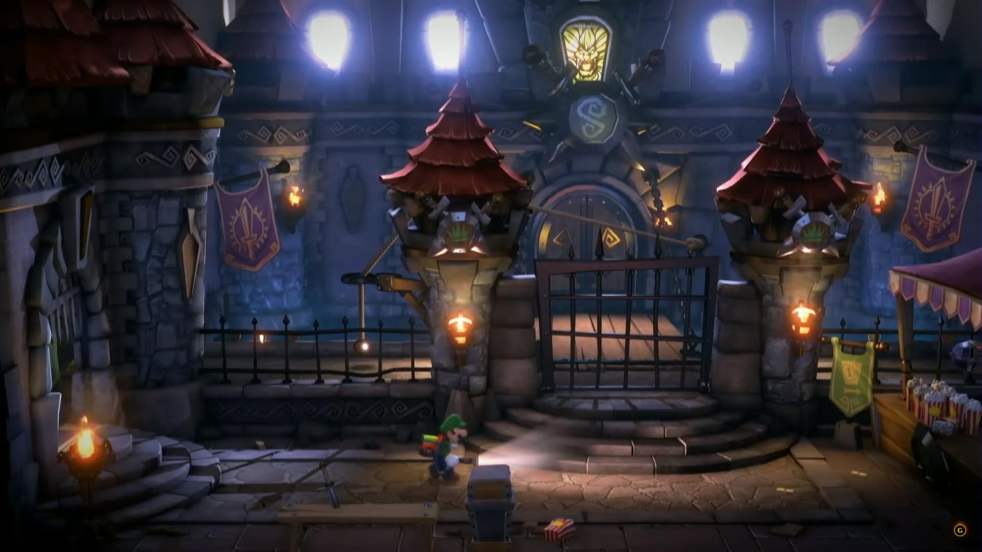 Luigi's Mansion 3 environnement 1