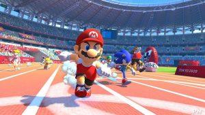 Mario et sonic aux Jeux Olympiques Nintendo