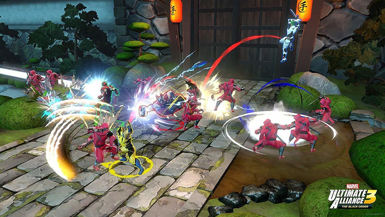 Marvel ultimate alliance 1 Nintendo