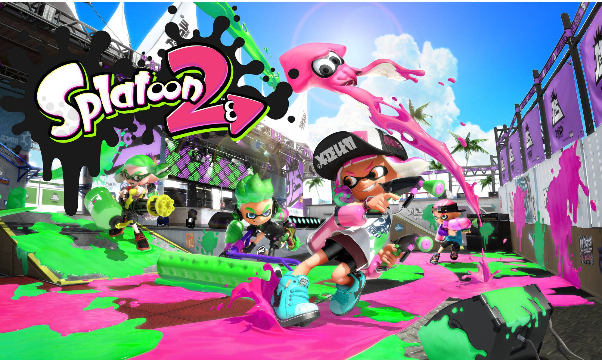 Splatoon 2 Japan Expo