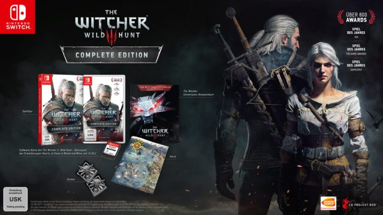 E3 2019 – The Witcher 3 s'invite sur Nintendo Switch !