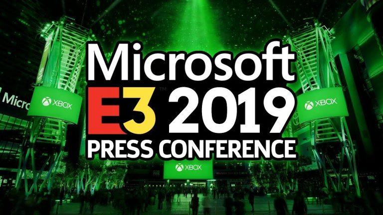 E3 2019 – La conférence de Microsoft de A à Z