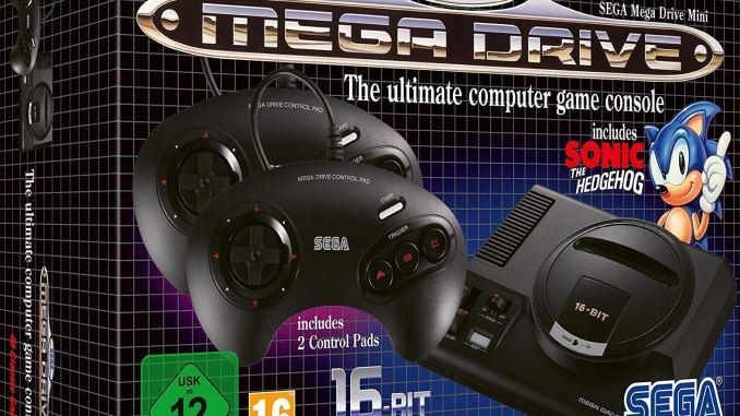 Mini Megadrive – Sega repousse la sortie de sa mini console