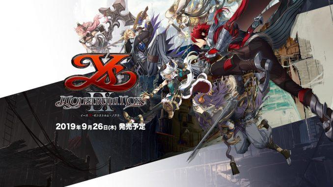 Ys IX