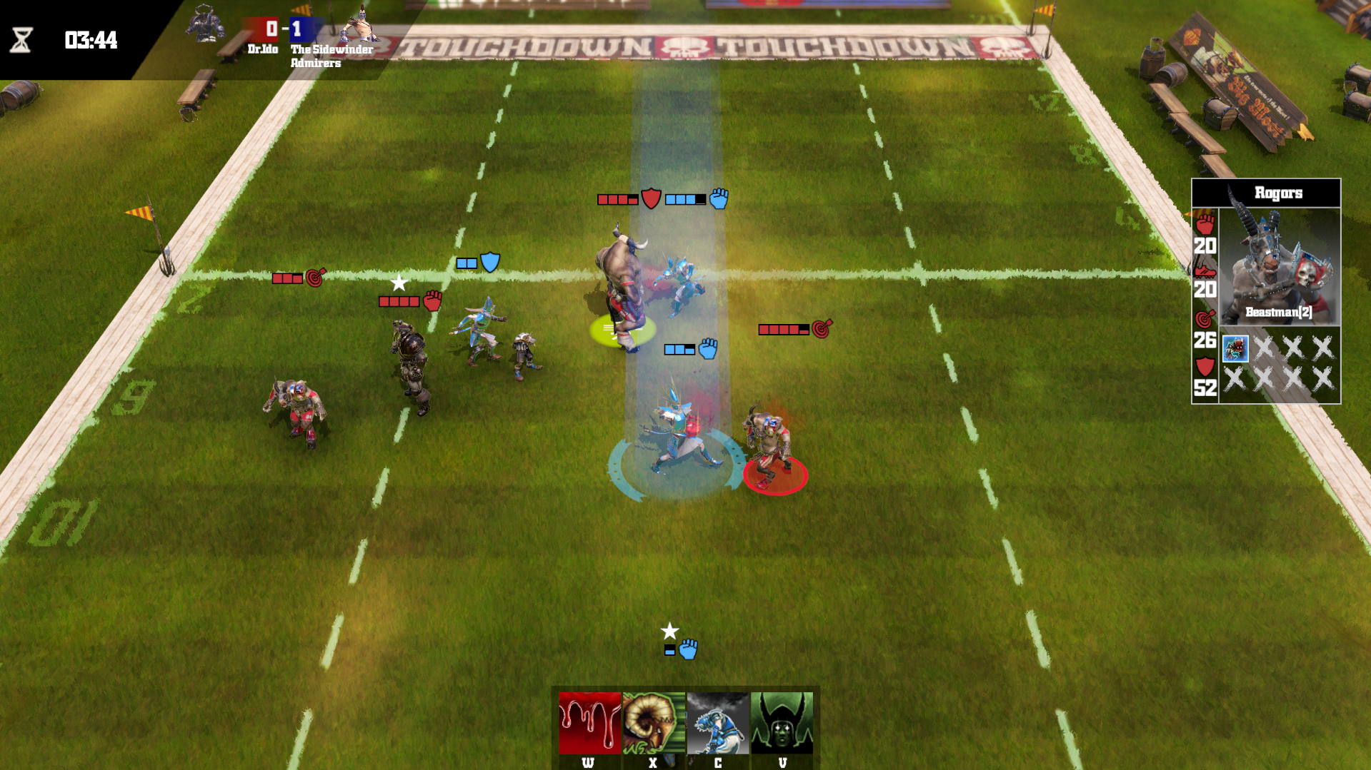 Blood Bowl Death Zone image 4
