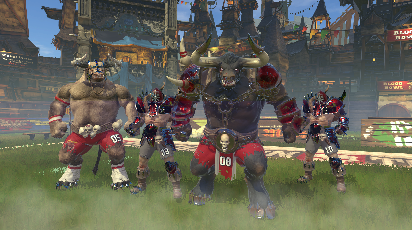 Blood Bowl Death Zone personnage