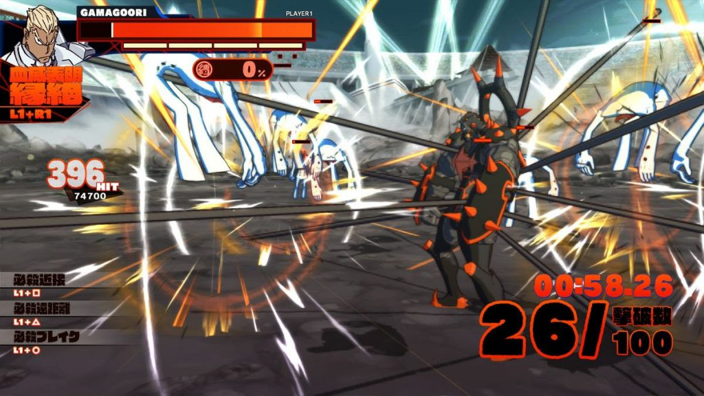 KILL la KILL IF gameplay