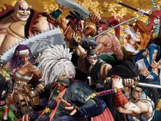 Samurai Shodown art