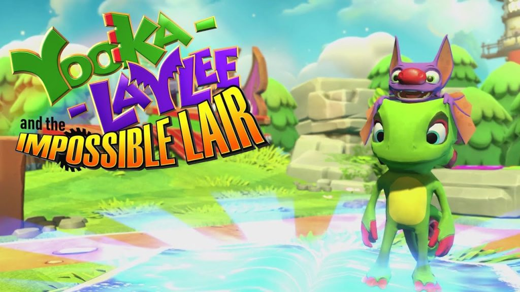 Yooka Kaylee and the impossible lair