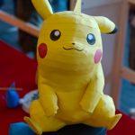 Papercraft de Pikachu à Japan Expo 2013