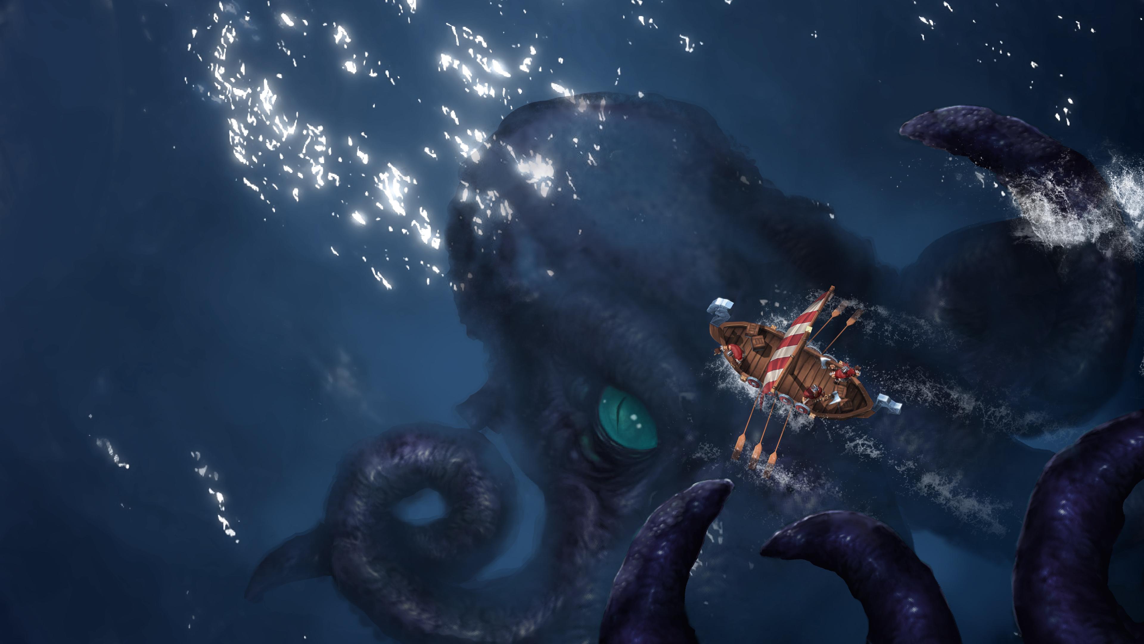 Northgard clan du kraken