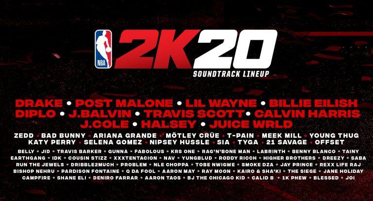 NBA 2K20 – Une bande-son de folie