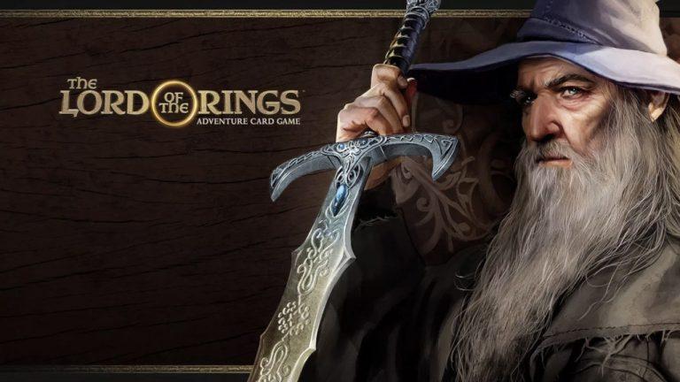 The Lord of the Rings – préparez vos cartes pauvres fous !