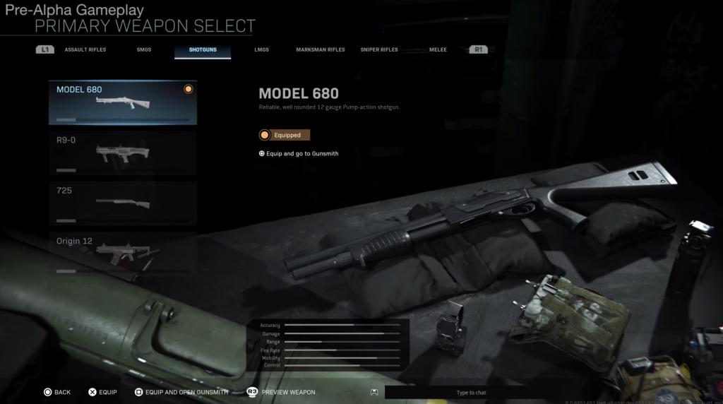 Modern Warfare - Fusil à pompe