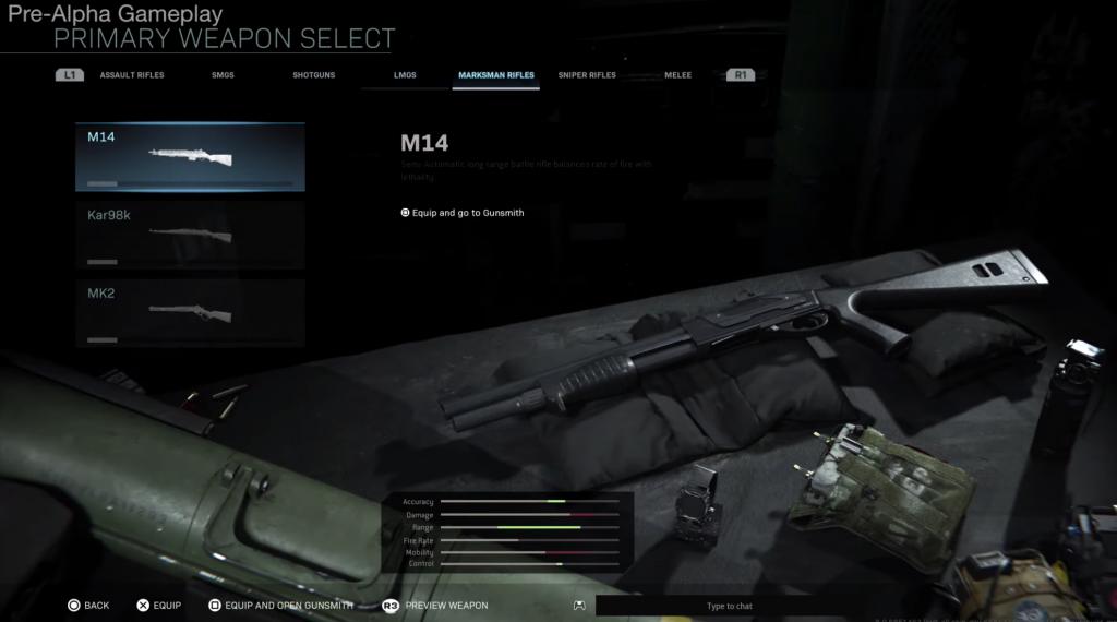 Modern Warfare -MK14
