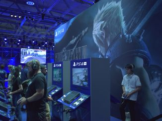 Final Fantasy VII mise en avant Gamescom