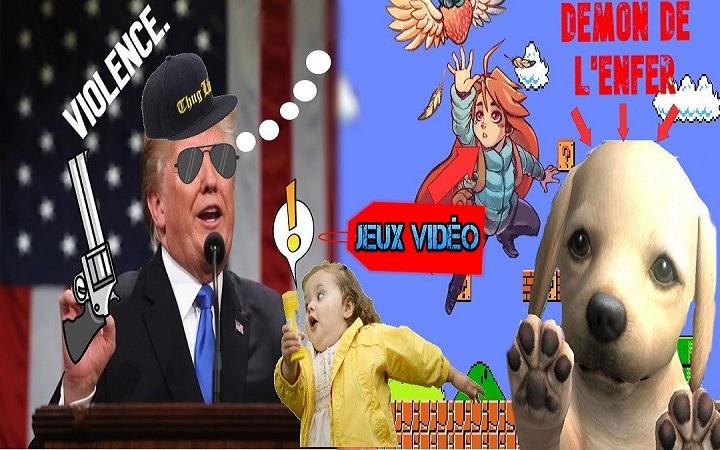 USA – Les armes moins dangereuses que les jeux vidéo ?