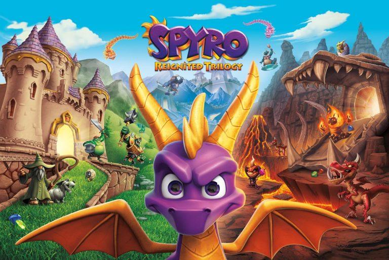 Spyro Reignited Trilogy – Le jeu va débarquer sur la Nintendo Switch