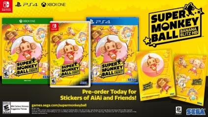 Super Monkey Ball: Banana Blitz HD – Dévoile ses graphismes HD en vidéo