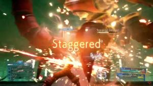 démo Final Fantasy VII Staggered et shortcuts