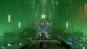 démo Final Fantasy VII battle