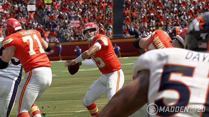 Madden NFL 20 – EA Sports mise sur une victoire des Kansas City Chiefs lors du Super Bowl LIV