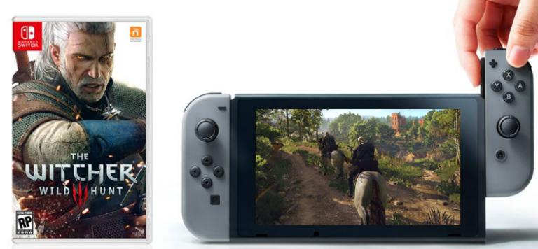 [Gamescom] The Witcher 3 –  Le jeu Switch n'est pas moche.