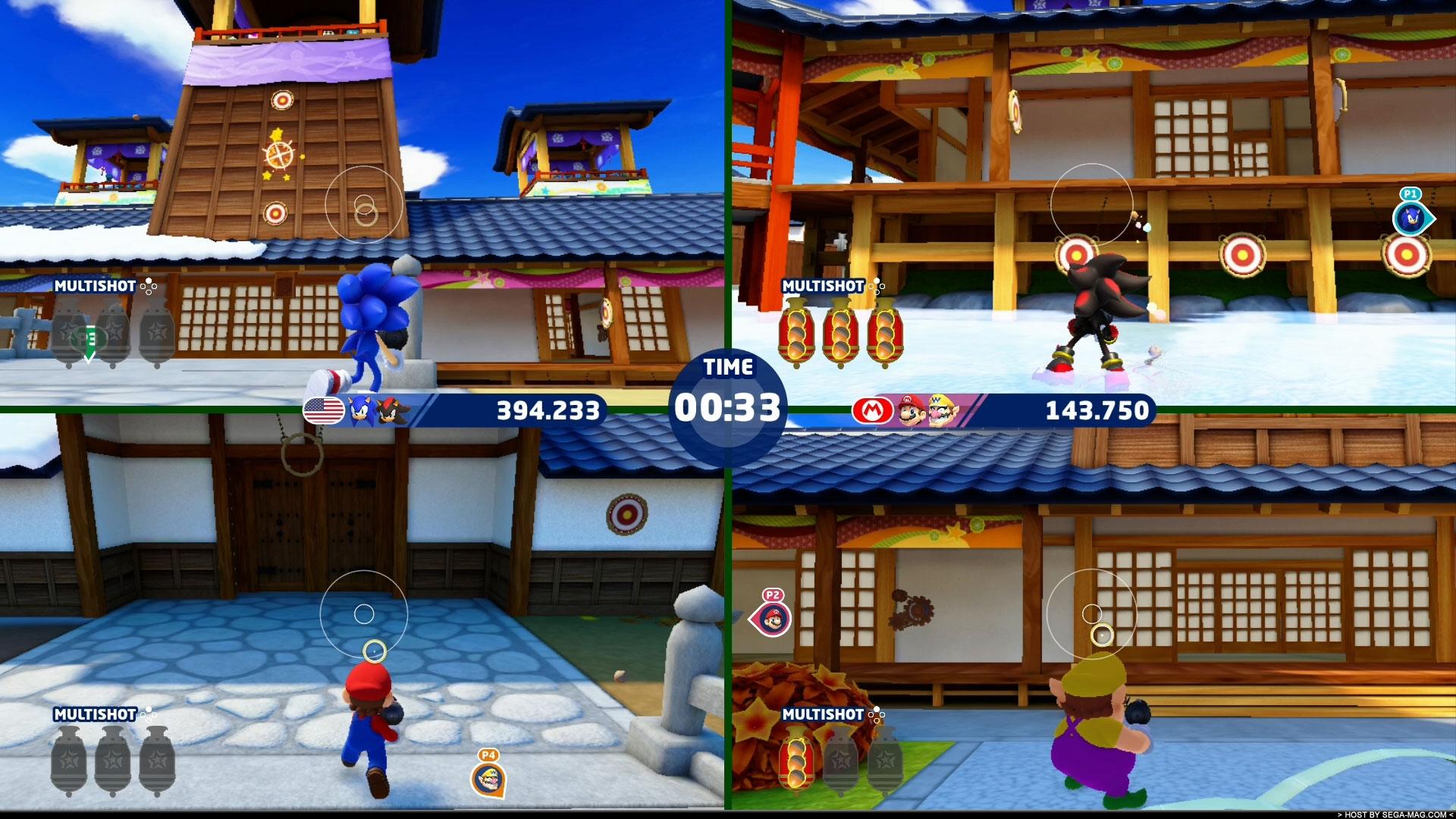Mario & Sonic aux Jeux Olympiques de Tokyo 2020 épreuve