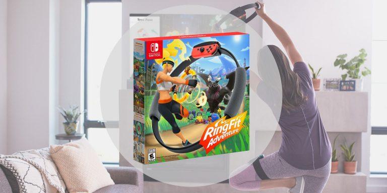 Nintendo Switch – Ring Fit Adventure s'offre une nouvelle bande annonce