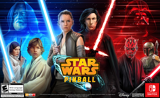 Star Wars Pinball – Désormais disponible sur Nintendo Switch !