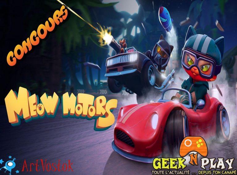 Meow Motors – Gagnez votre exemplaire!