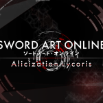 Sword Art Online : Alicization Lycoris – Lancement du jeu le 22 mai 2020 !
