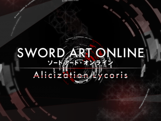 Sword Art Online : Alicization Lycoris