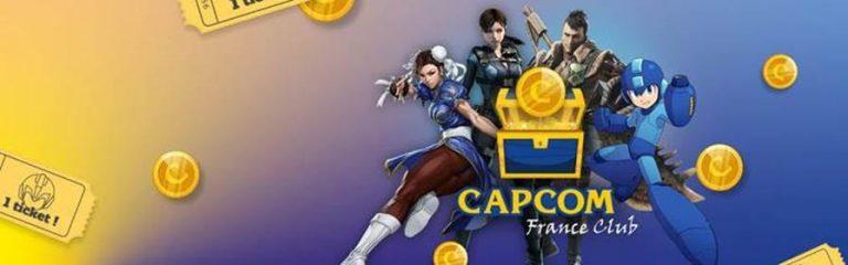 Capcom – Ouverture du Capcom France Club