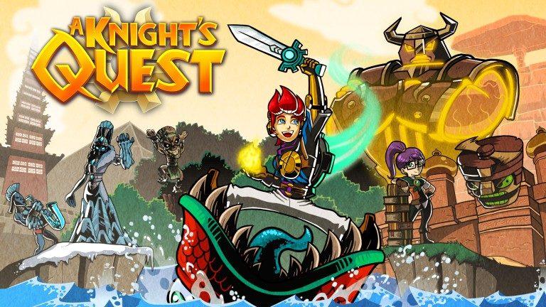 A Knight's Quest – Sortez les armes dès le 10 octobre sur consoles et PC !