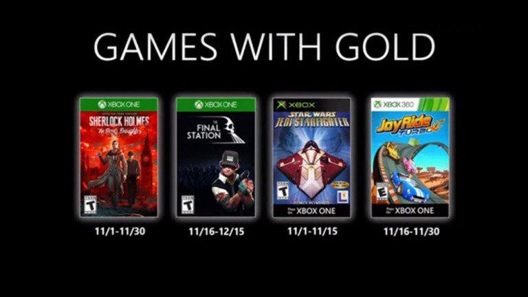 Xbox Live Gold – Demandez le programme du mois de novembre !