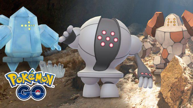 Pokémon GO - Regi Return