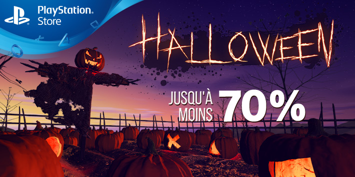 PlayStation Store – Promotions d'Halloween sur le catalogue !