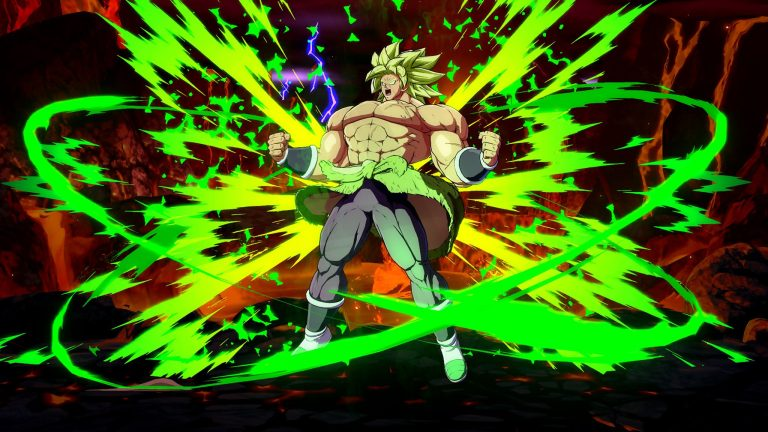 Dragon Ball FighterZ – Broly a bientôt terminé son échauffement !