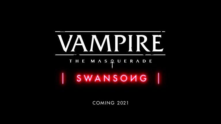 Vampire: La Mascarade– Swansong – Un nouveau jeu pour la franchise