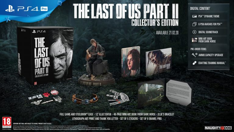 The Last of Us part II – Précommande de l'édition collector