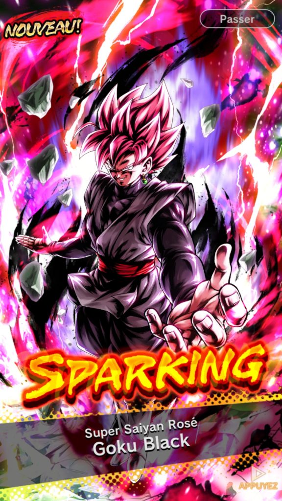 Image result for super saiyan rose goku black db legends